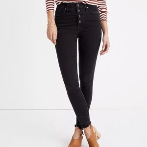 "Madewell 10"" High-rise Skinny Jeans In Berkeley"